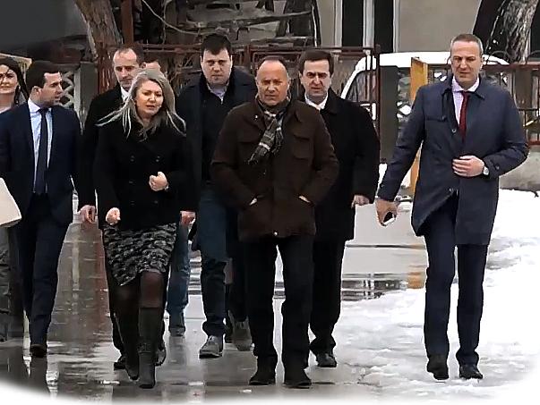 Ministar Šarčević posetio Knjaževac i sastao se sa predsednikom Đokićem