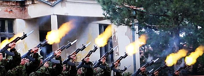 Pucanj iz puške, foto: Knjaževačke novine