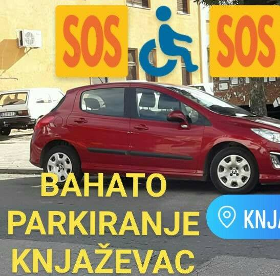 Foto: Bahato parkiranje Knjaževac / Fejsbuk profil