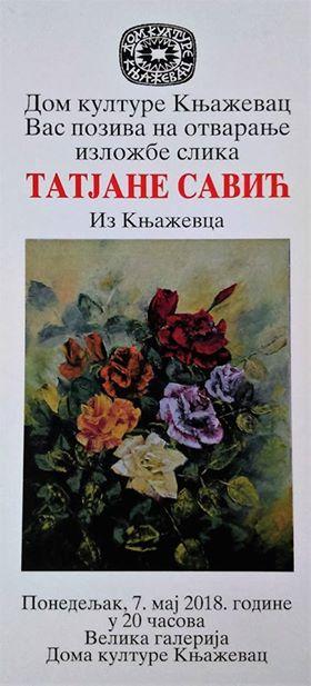 Izložba slika Tatjane Savić