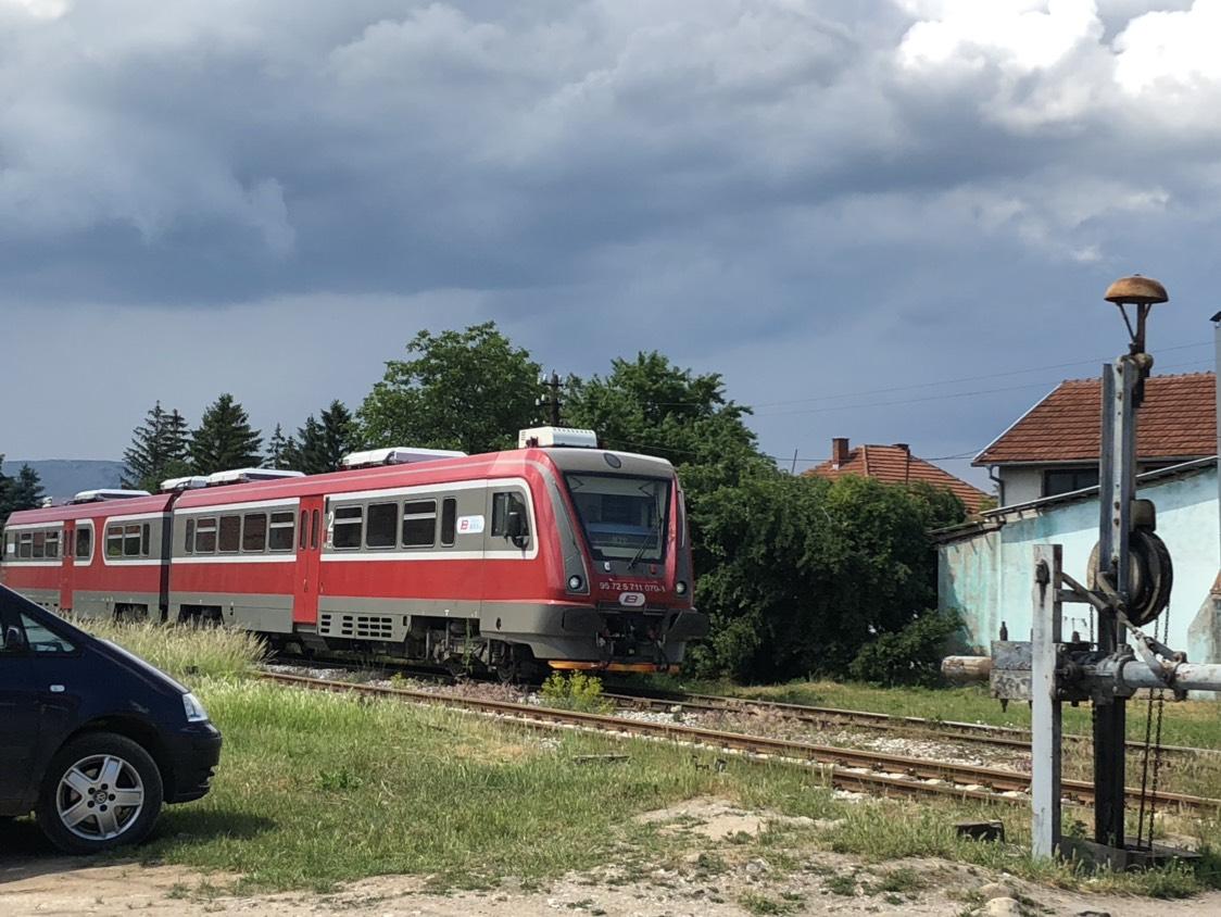 Voz, pruga Srbija, foto: M. Miladinović, Knjaževačke novine