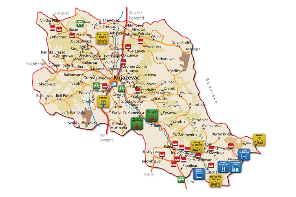 Opština Knjaževac zastupljena u turističkoj web platformi