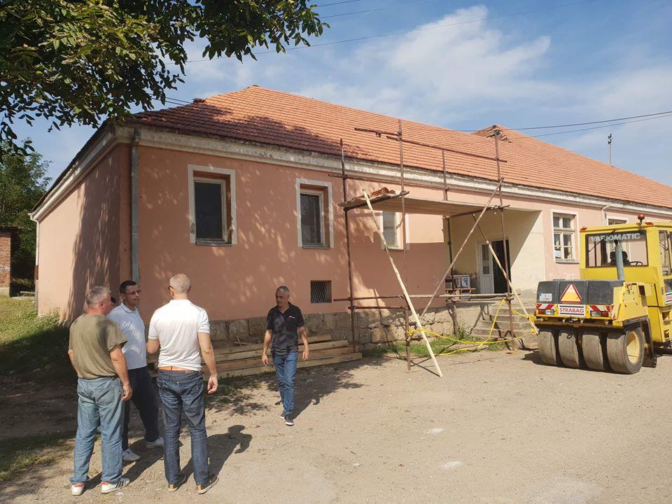 Uređenje seoskog doma u Štipini