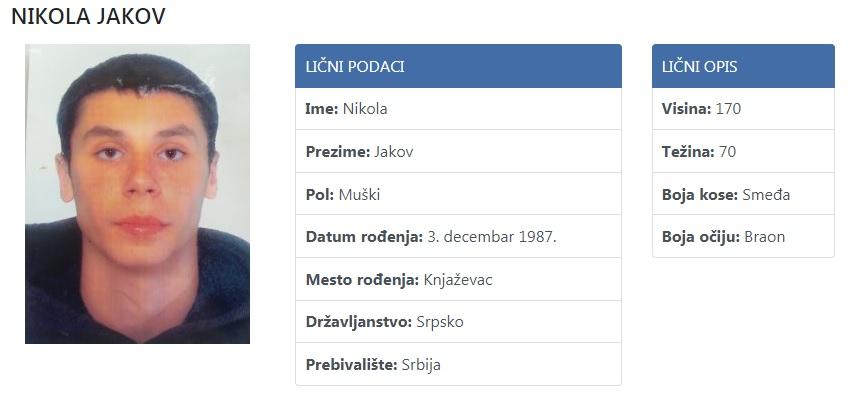 Nikola Jakov, preuzeto sa sajta nestalisrbija.rs