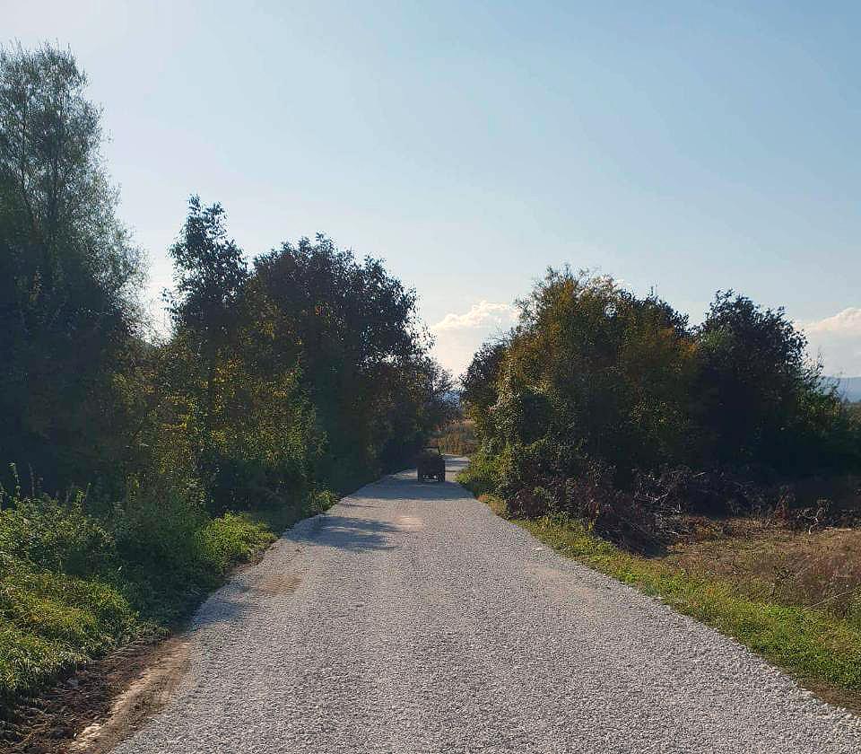 Rekonstrukcija puta prema Banjici u dužini od 1,2 km