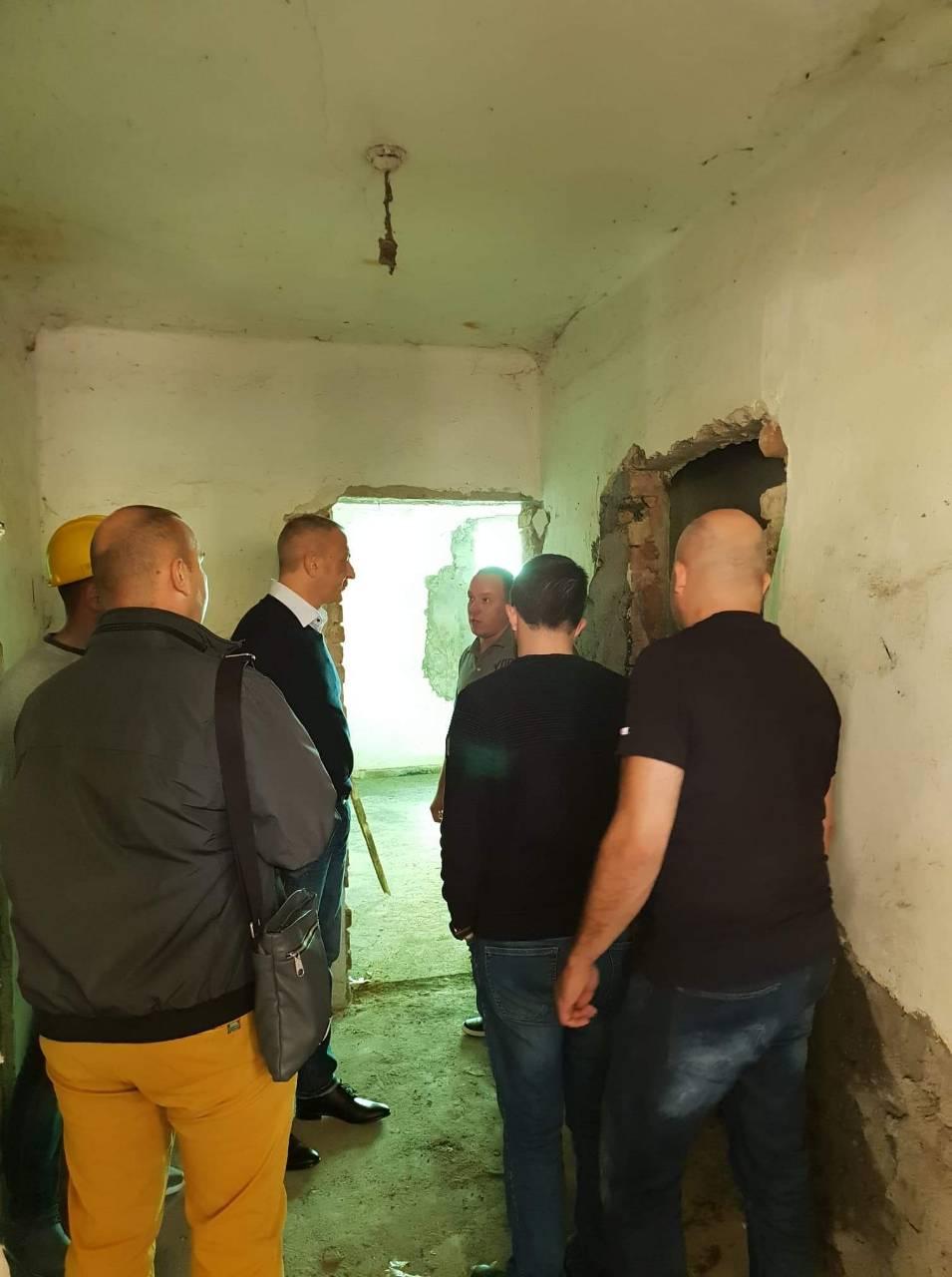 Predsednik opštine Milan Đokić obišao gradilište