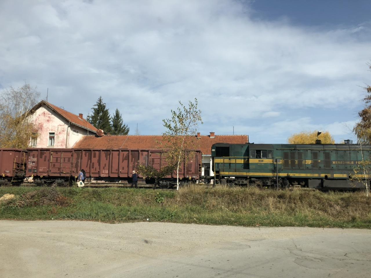 Voz, železnički saobraćaj, foto: Marko Miladinović, Knjaževačke novine