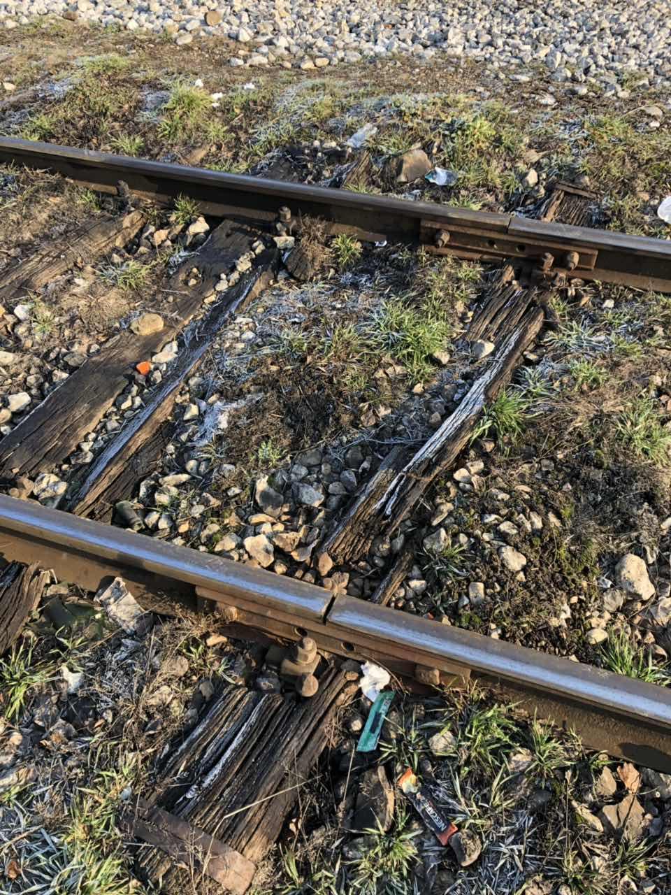 Železnička prugra, fotografija: Marko Miladinović, Knjaževačke novine