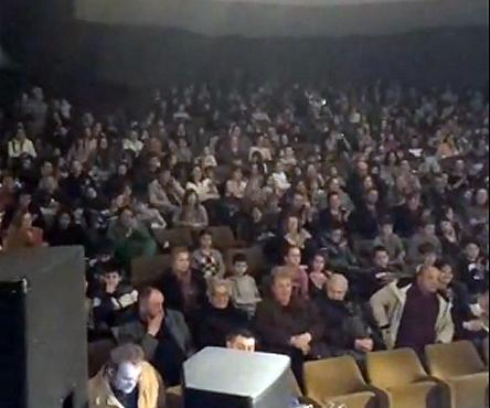 Detalj sa koncerta, foto: Printskrin, video Knjaževac vesti