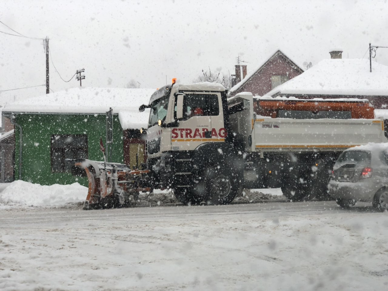 Ilustracija, arhivska fotografija, čišćenje snega, foto: Marko Miladinović, portal ,,Knjaževačke novine''